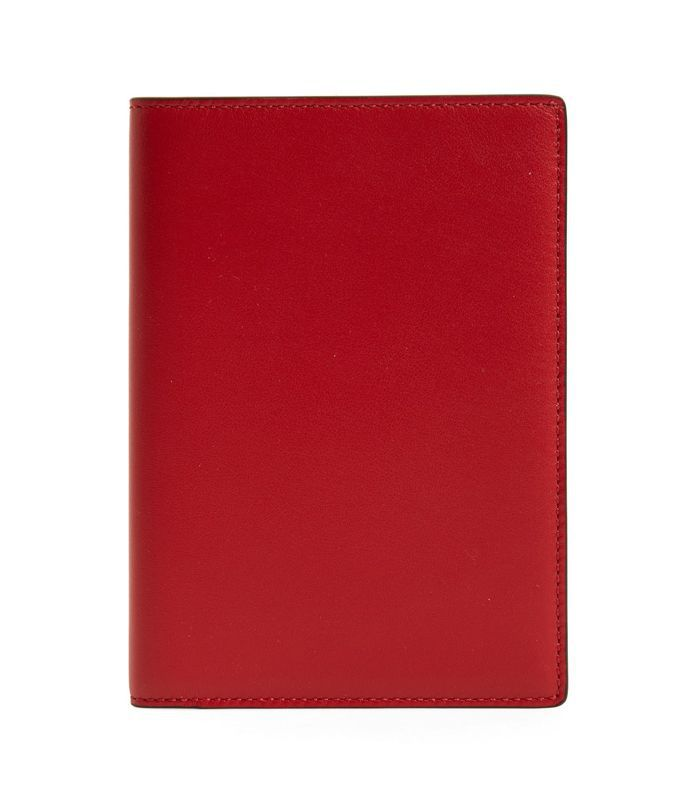 Smythson Hero Leather Passport Case