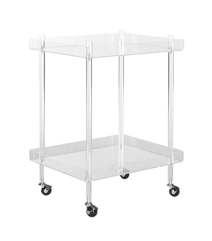 X-Frame Bar Cart