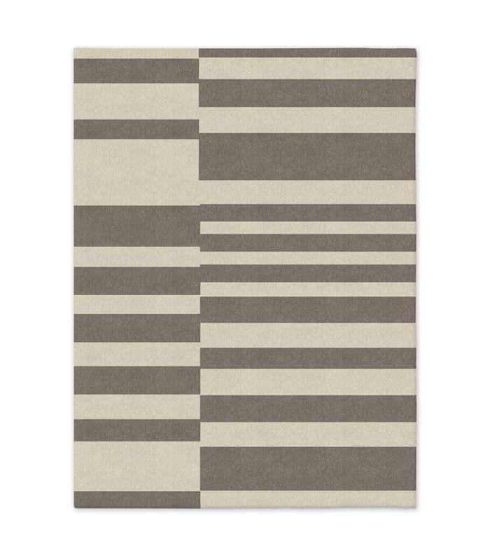 Custom Offset Stripe Dhurrie