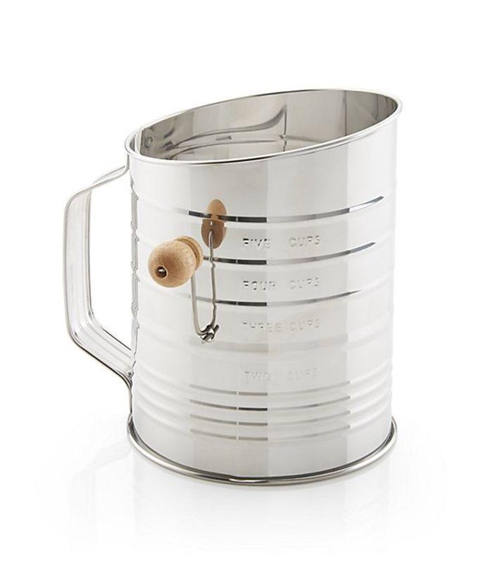 Crate & Barrel Flour Sifter