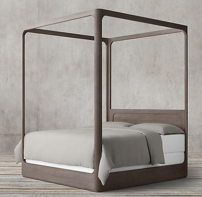 Restoration Hardware Martens Canopy Bed