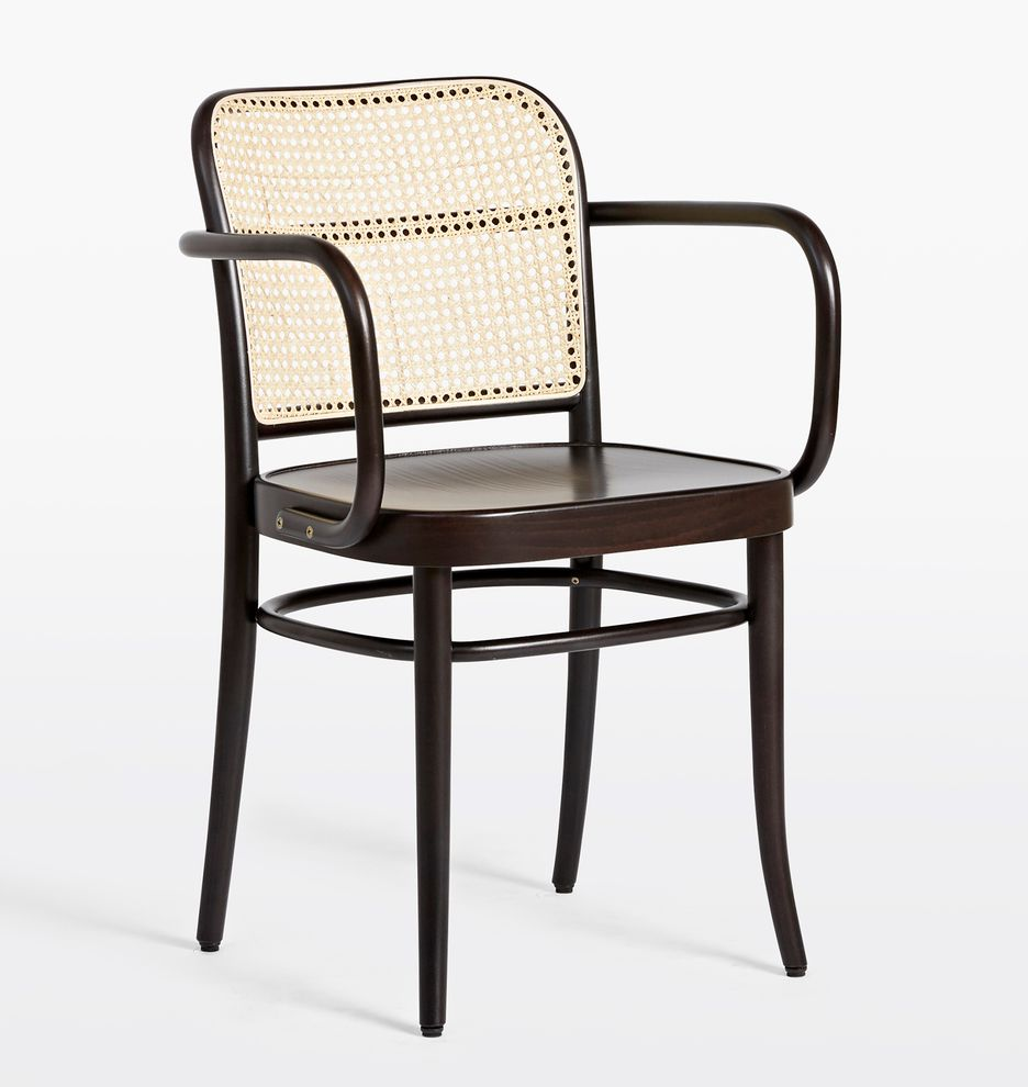 Tom 811 caned arm chair