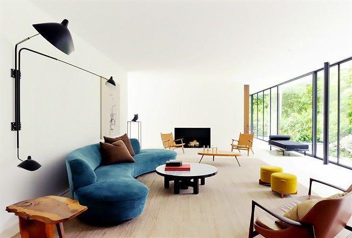 contour curved sofa