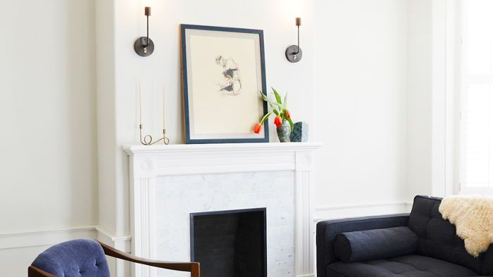 This Easy Yet Chic Way To Display Art At Home Requires Zero Nails