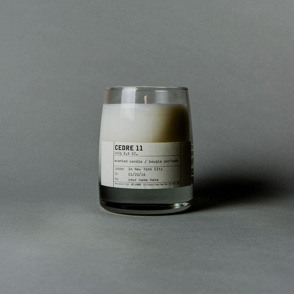 Le Labo Cedre 11 Classic Candle