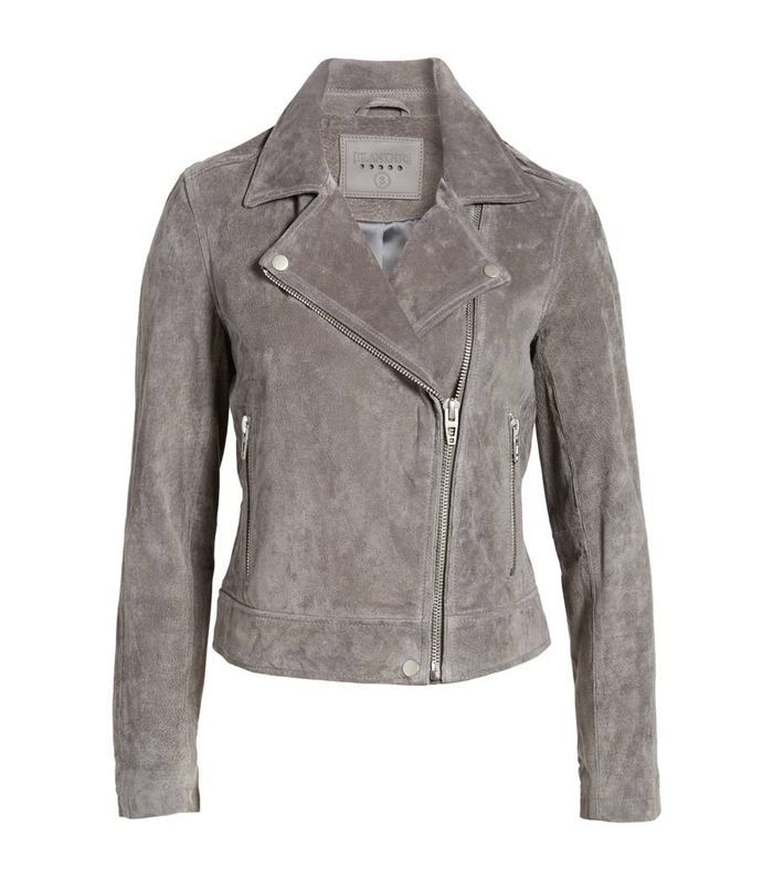 Women's Blank NYC Suede Moto Jacket
