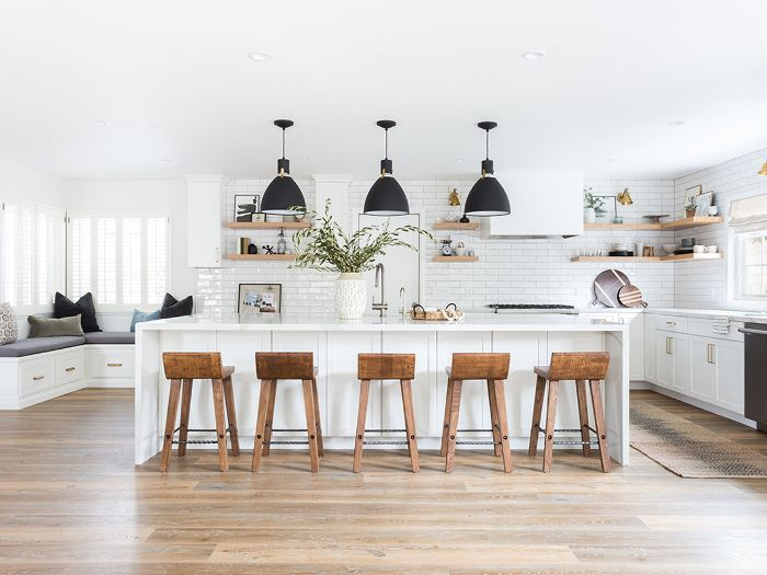 This Stunning All White Kitchen Renovation Was Worth 100k