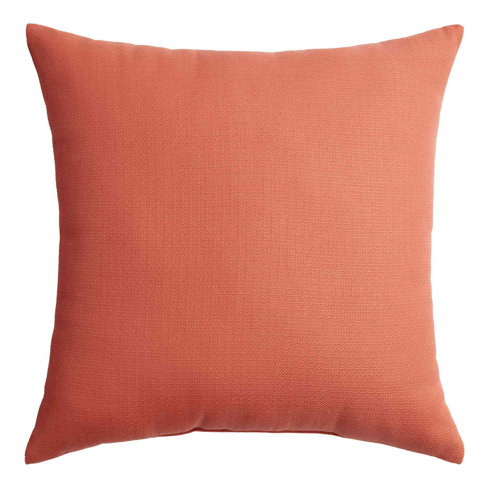 World Market Solid Outdoor Throw Pillow