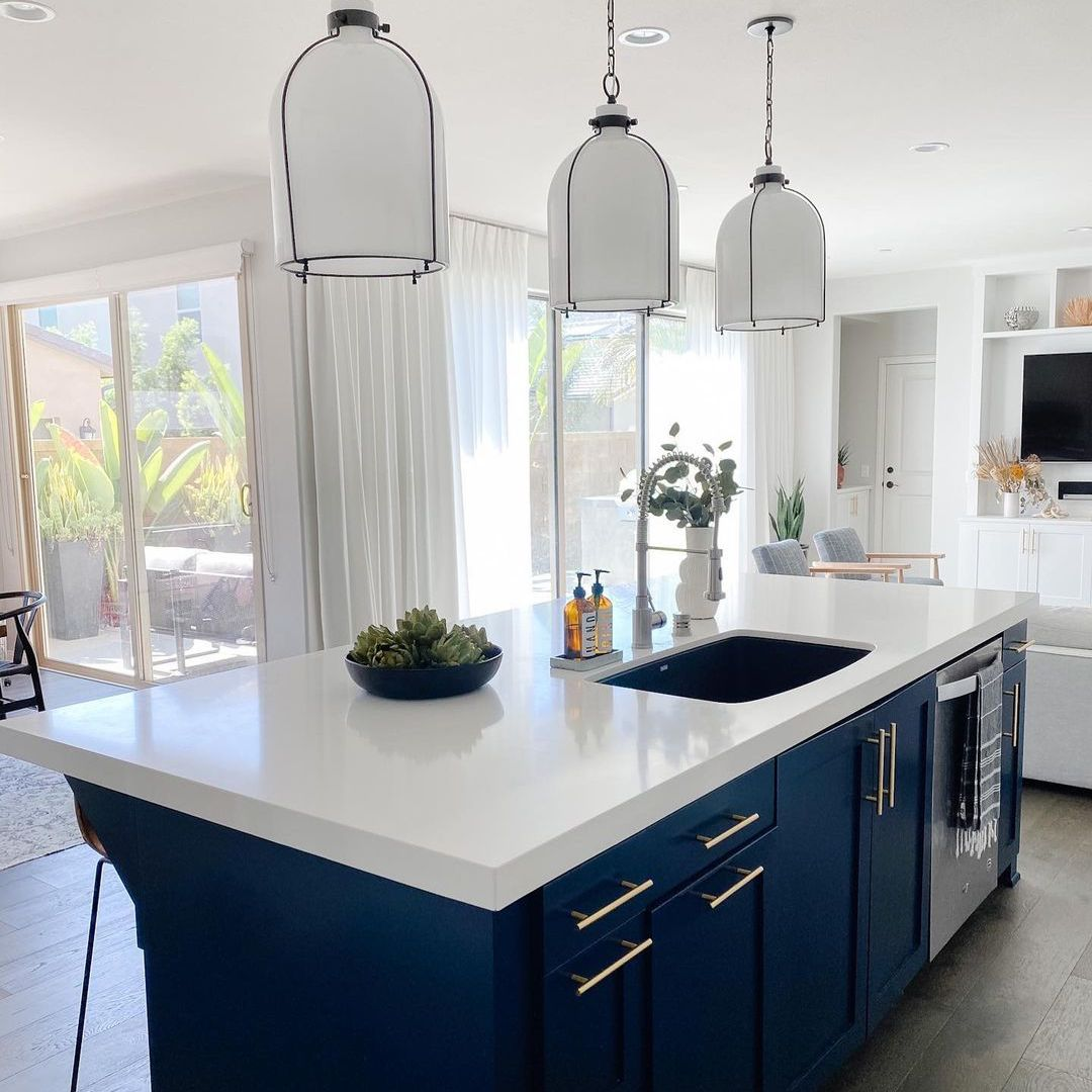 20 Blue Kitchen Cabinet Ideas That Will Inspire Your Kitchen Remodel