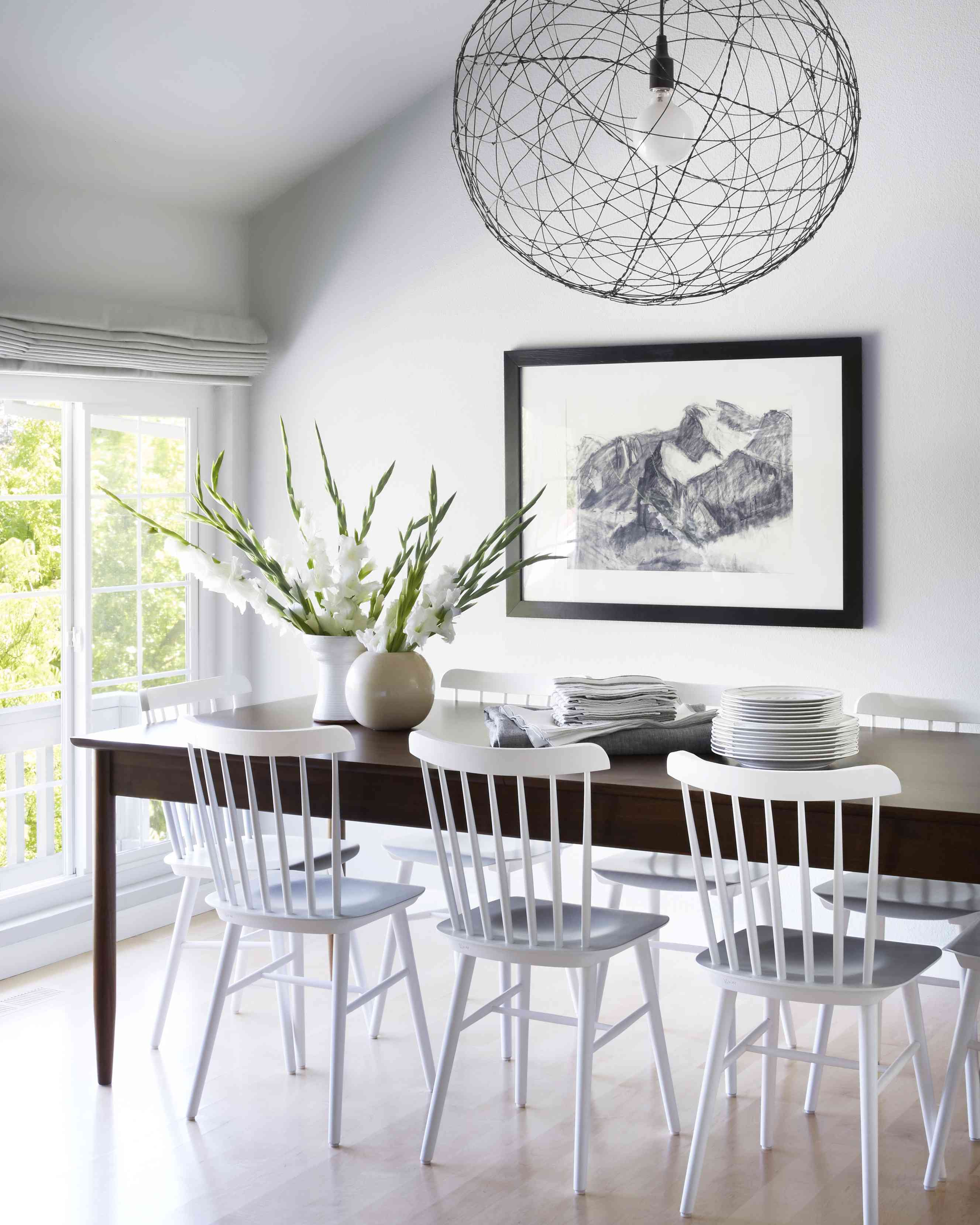 Makeover of the Week - Orlando Soria Transforms a Dated Dining Room into a Farmhouse Chic Oasis