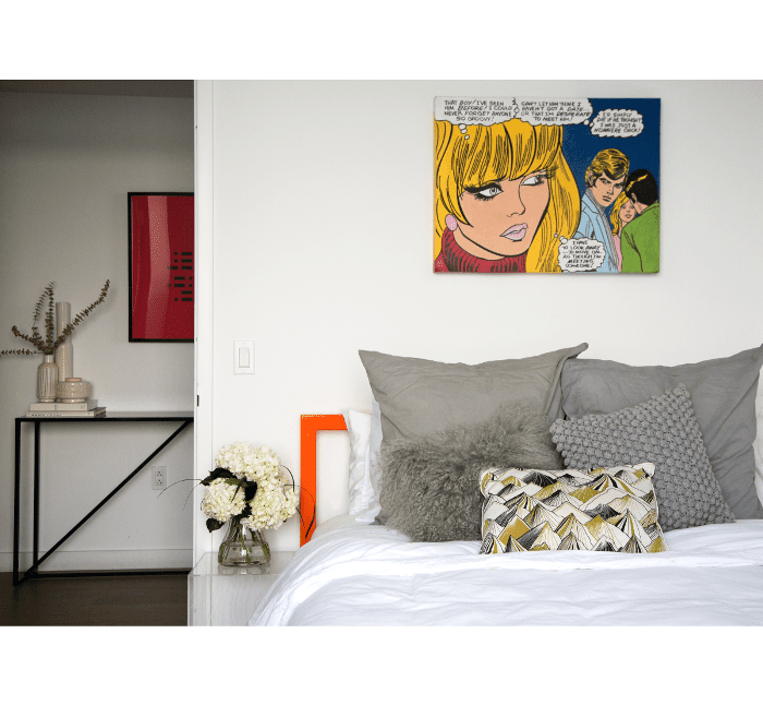 Williamsburg Apartment Tour — Habitación