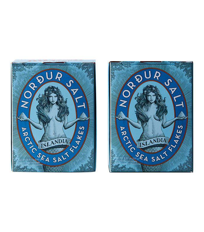 Nordur Salt brand arctic sea salt flakes