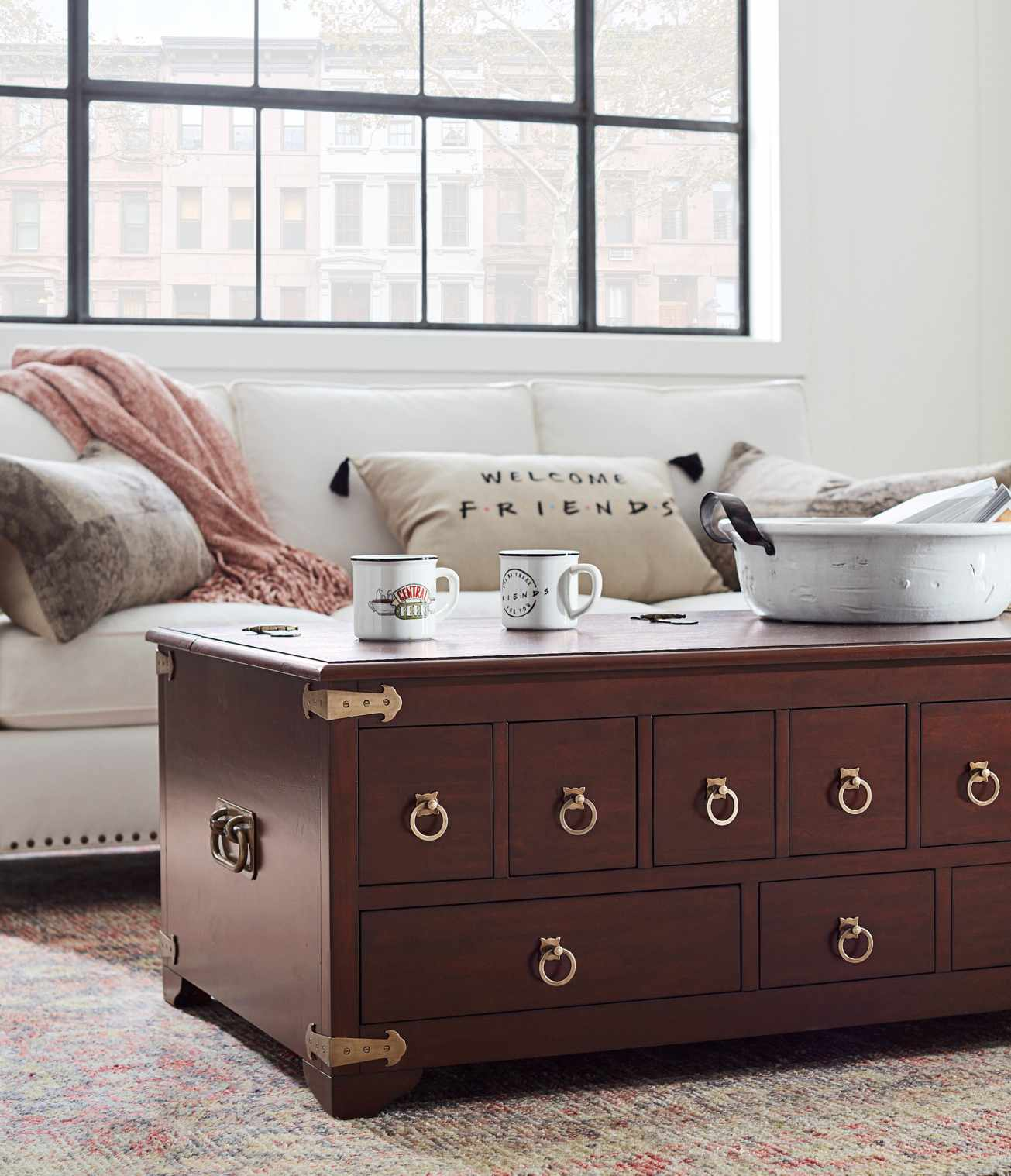"""Pottery Barn Just Announced a New Collection Inspired by the Show """"Friends"""""""