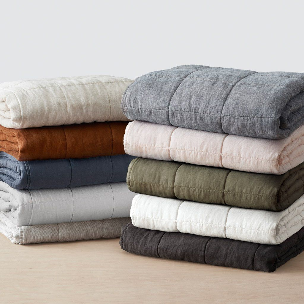 The Citizenry Stonewashed Linen Quilt