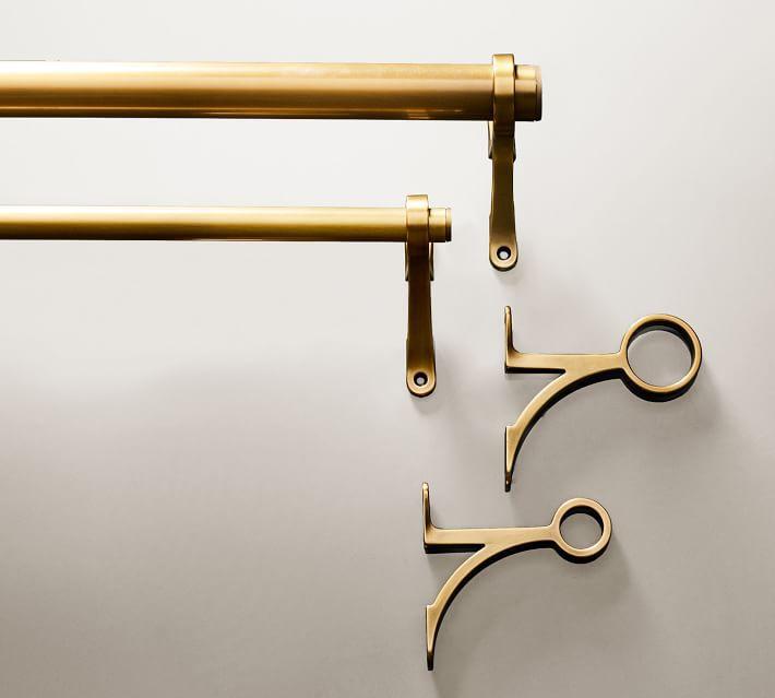 Curtain Rod & Wall Bracket