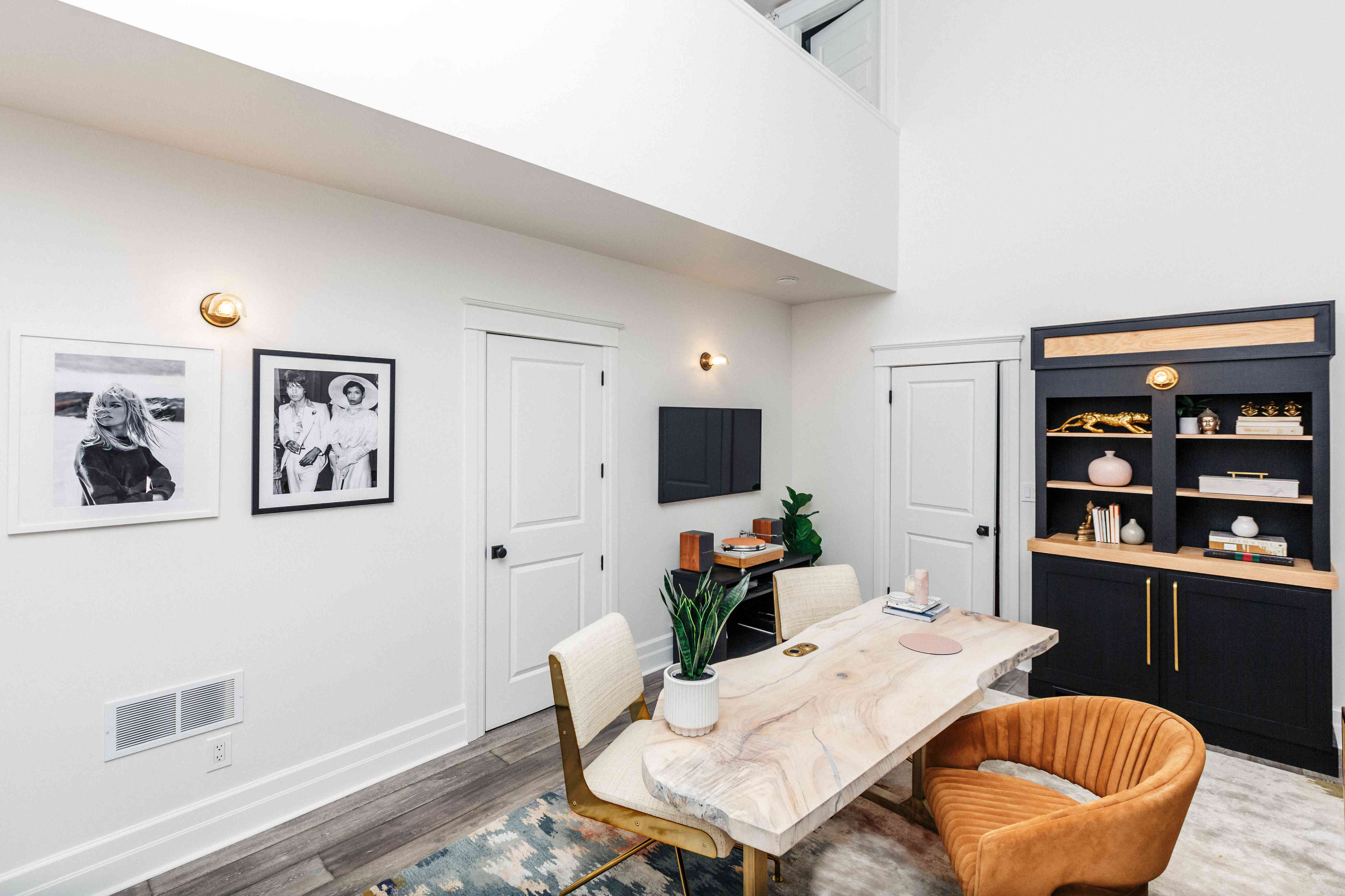 Candace Griffin Favorite Room - lofted office