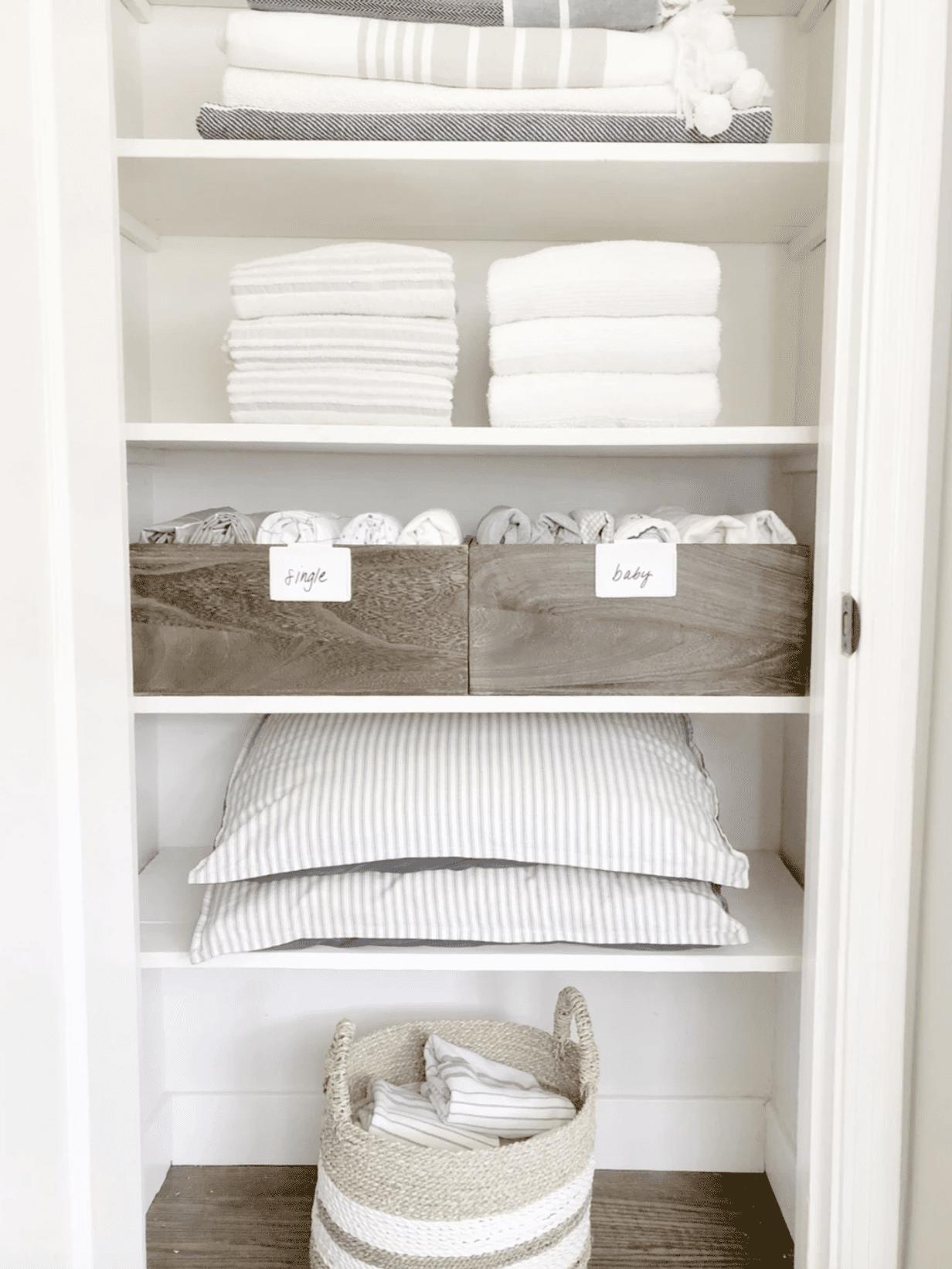 20 Best Linen Closet Organization Ideas