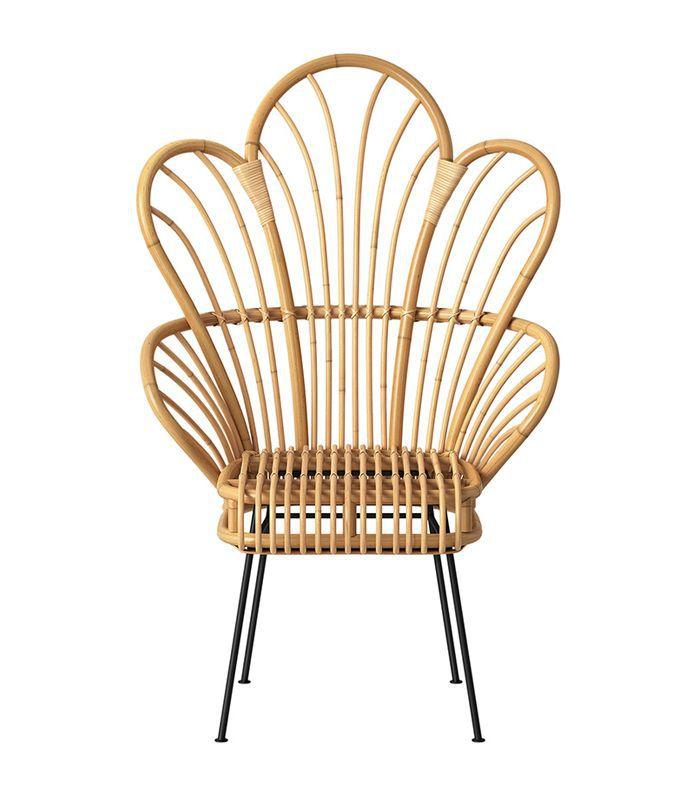 Target Avocet Rattan Fan Back Accent Chair