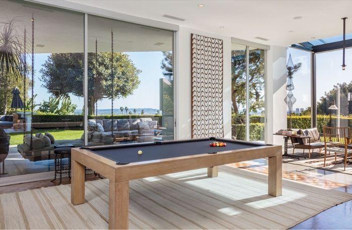 Ellen Degeneres Beverly Hills Home   Pool Deck