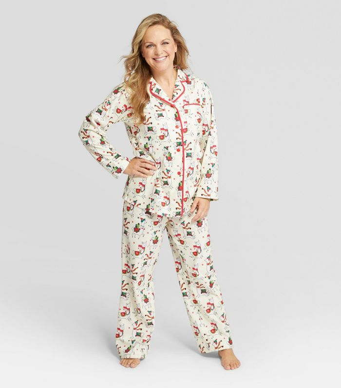 Nite Nite Munki Munki Women's Holiday Pajama Set Holiday Party Ideas