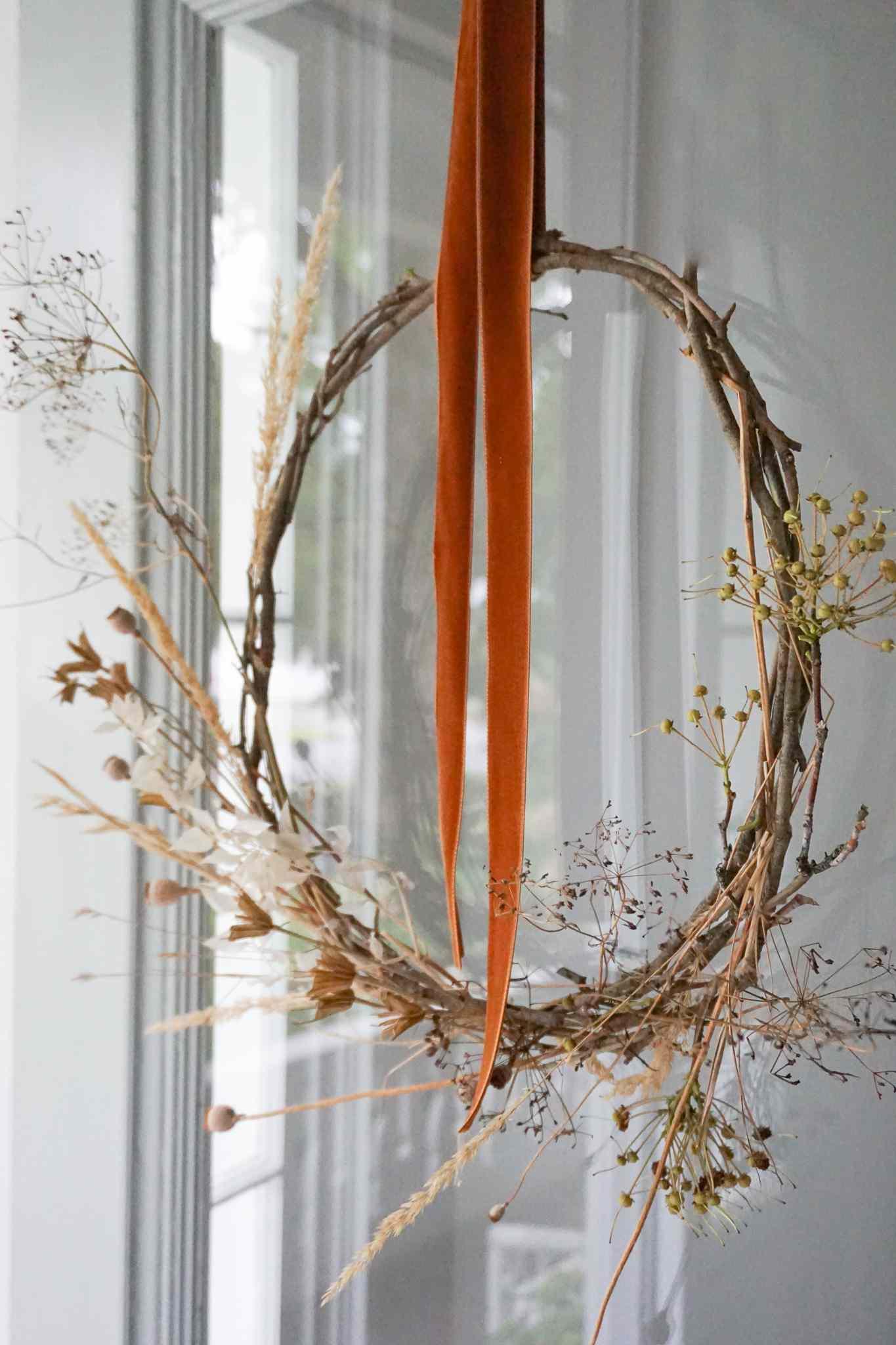 nature fall wreath