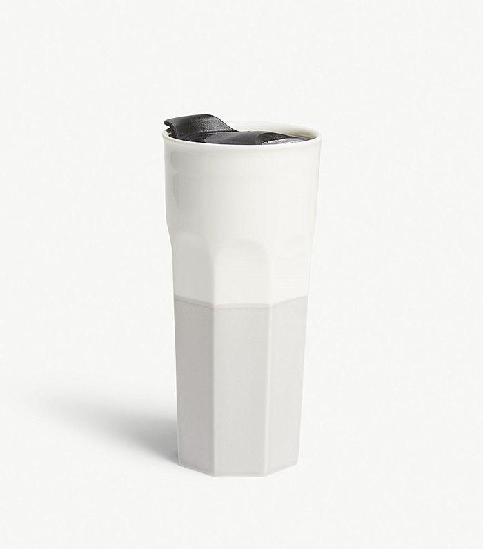 Coffee porcelain travel mug 350ml