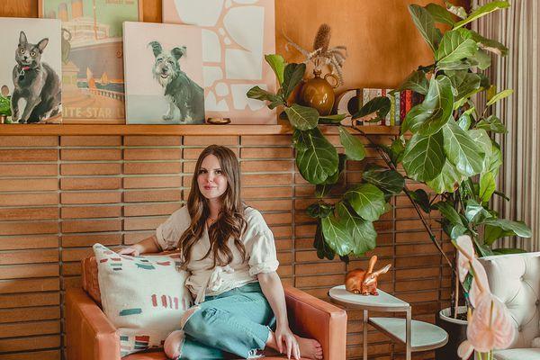 Claire Thomas—Kitchy Kitchen midcentury home