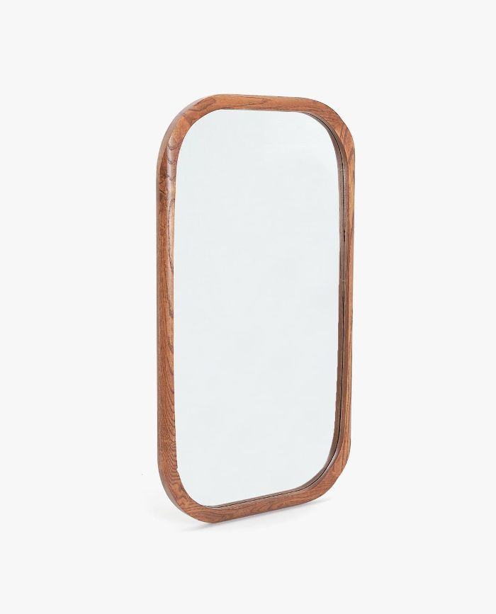 Zara Home Rectangular Wooden Mirror