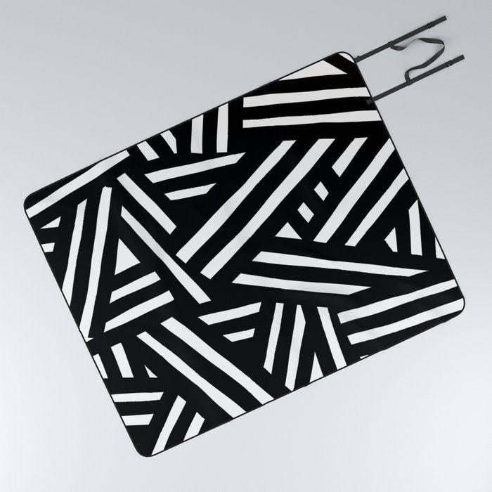 Monochrome Picnic Blanket