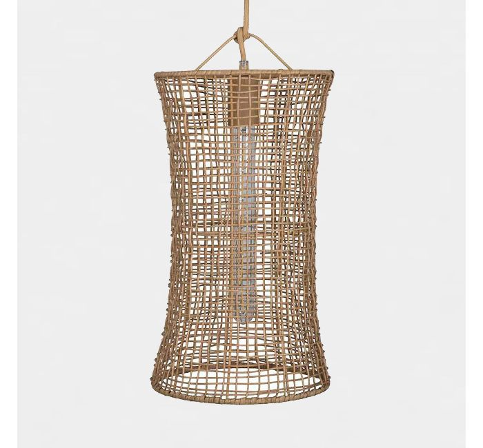 Leanne Ford for Project 62 Natural Woven Hourglass Pendant Lamp