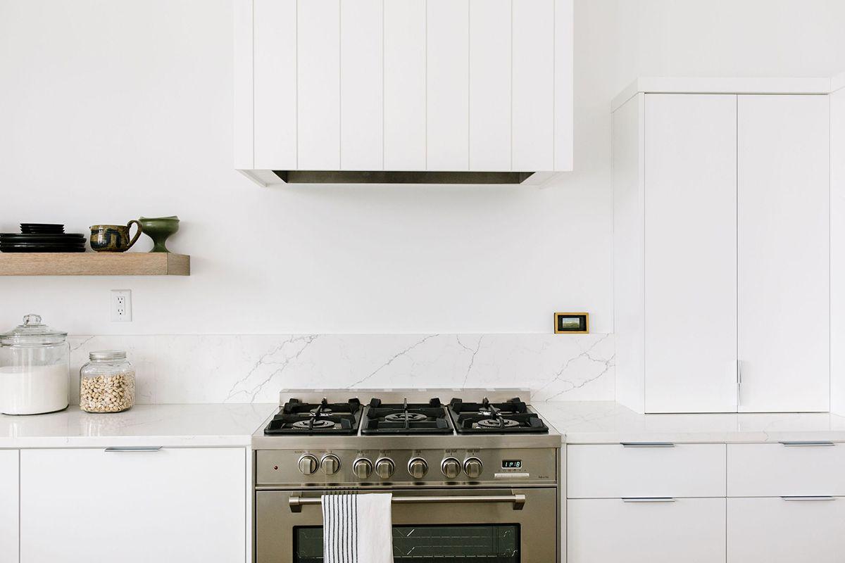 Oven rangehood design