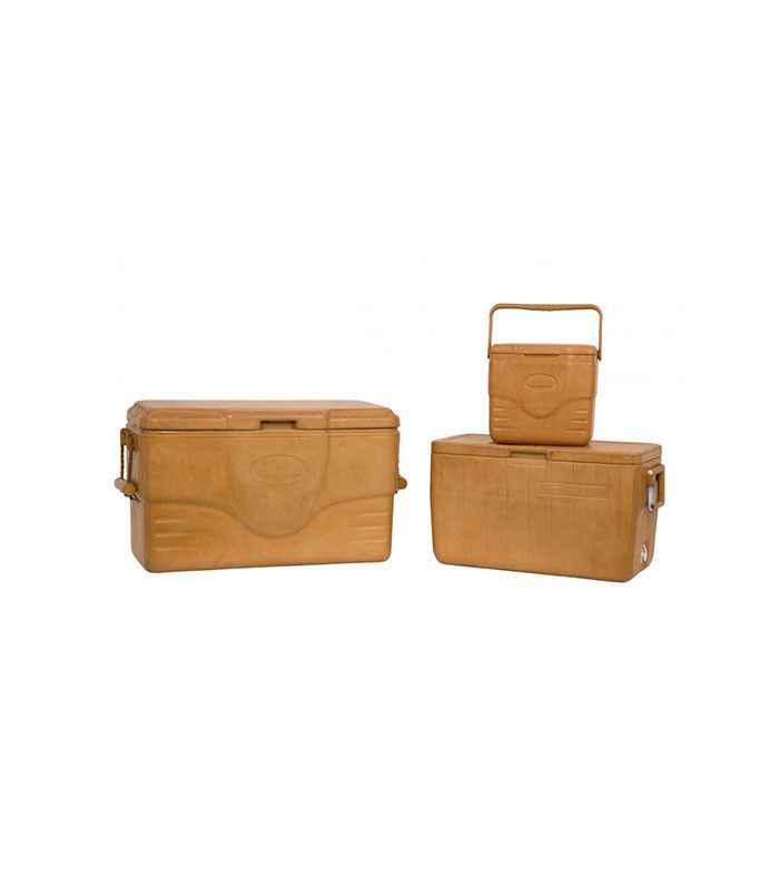 Jayson Home Natural Leather Coolers
