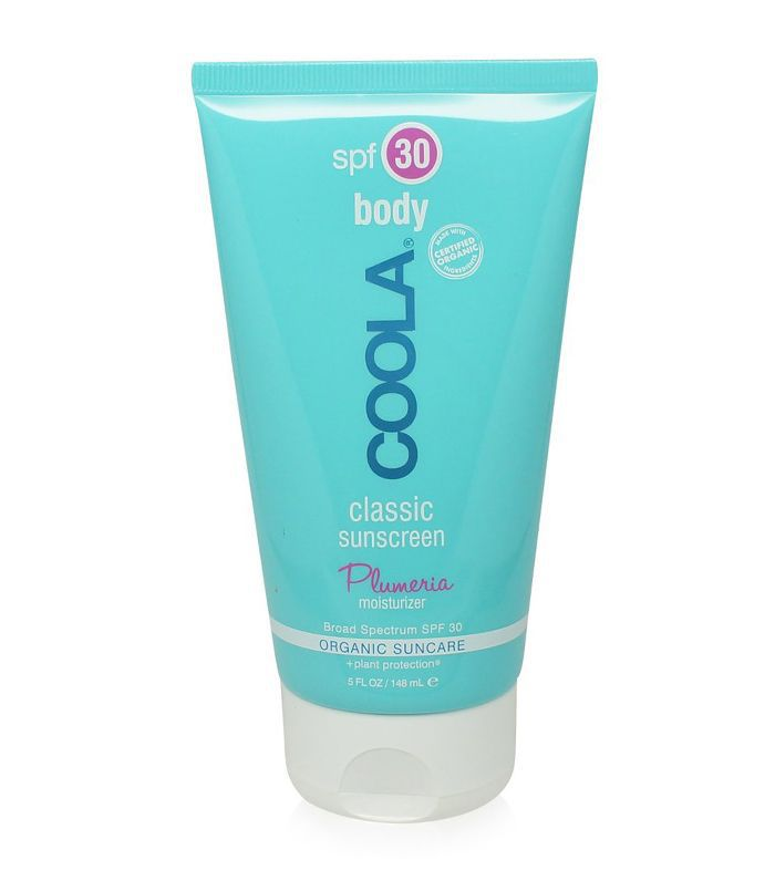 Coola Moisturizing Body SPF 30 Plumeria Organic Sunscreen Lotion