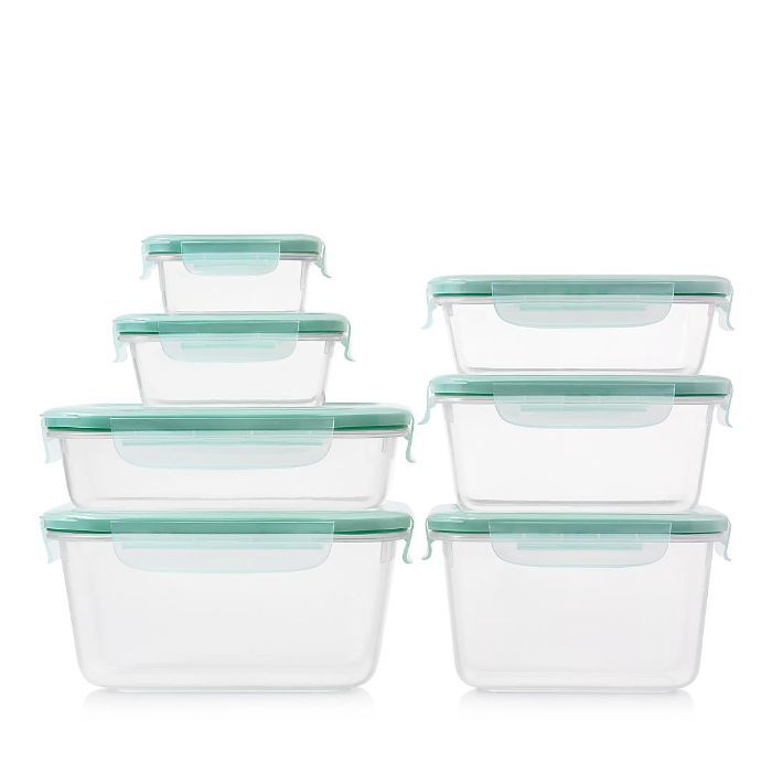 16-Piece Smart Seal Plastic Container Set