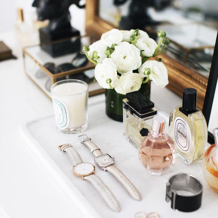 Ideas de diseño de vanidad: The Everygirl Home Tour