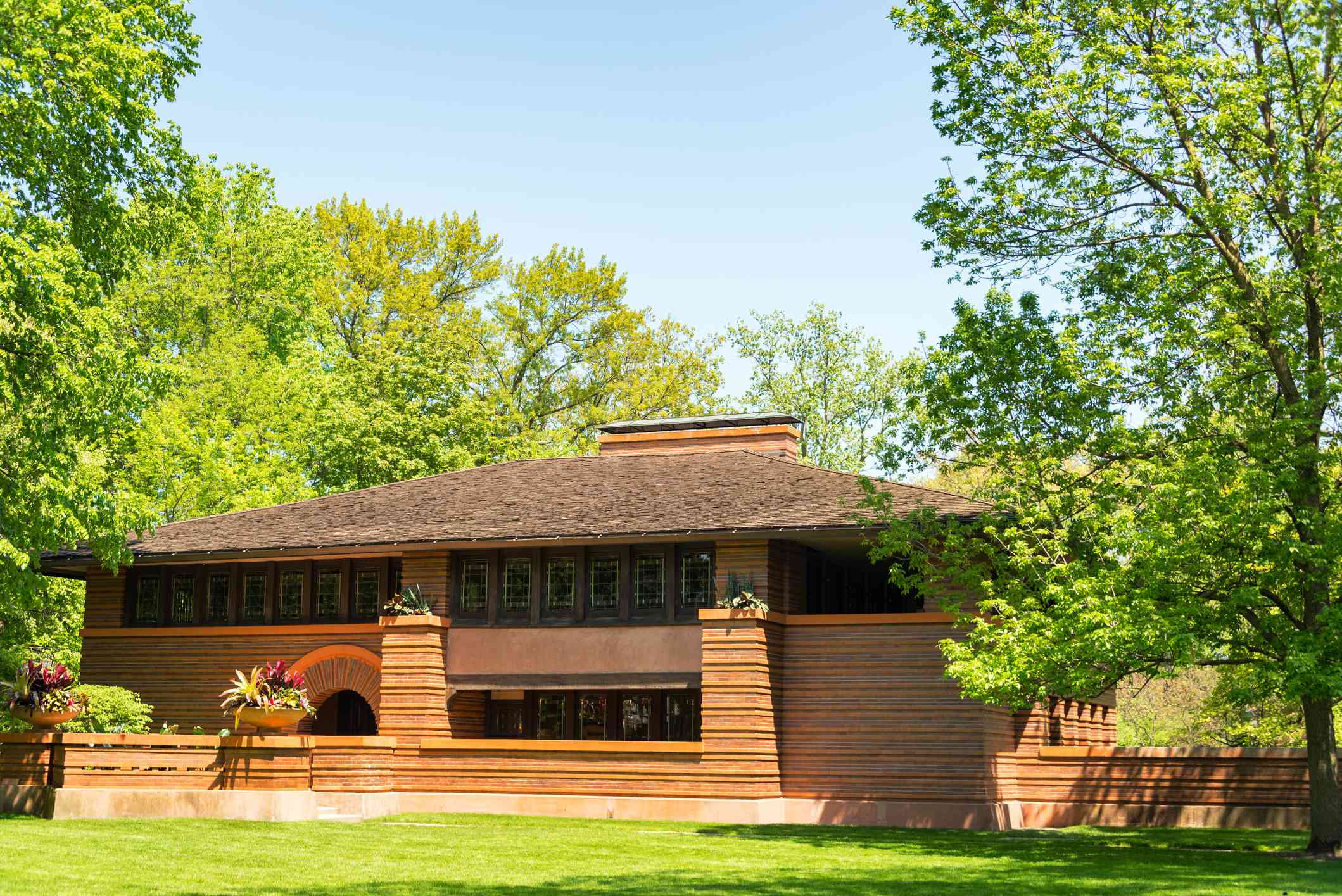 frank lloyd wright designer prairie style craftsman home