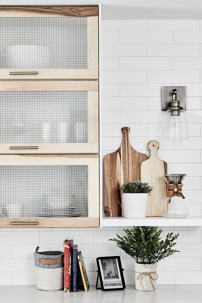 IKEA cabinets—modern kitchen