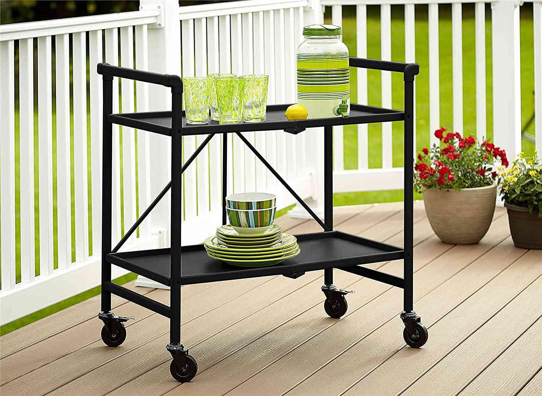 Cosco Outdoor Living Folding Serving Cart