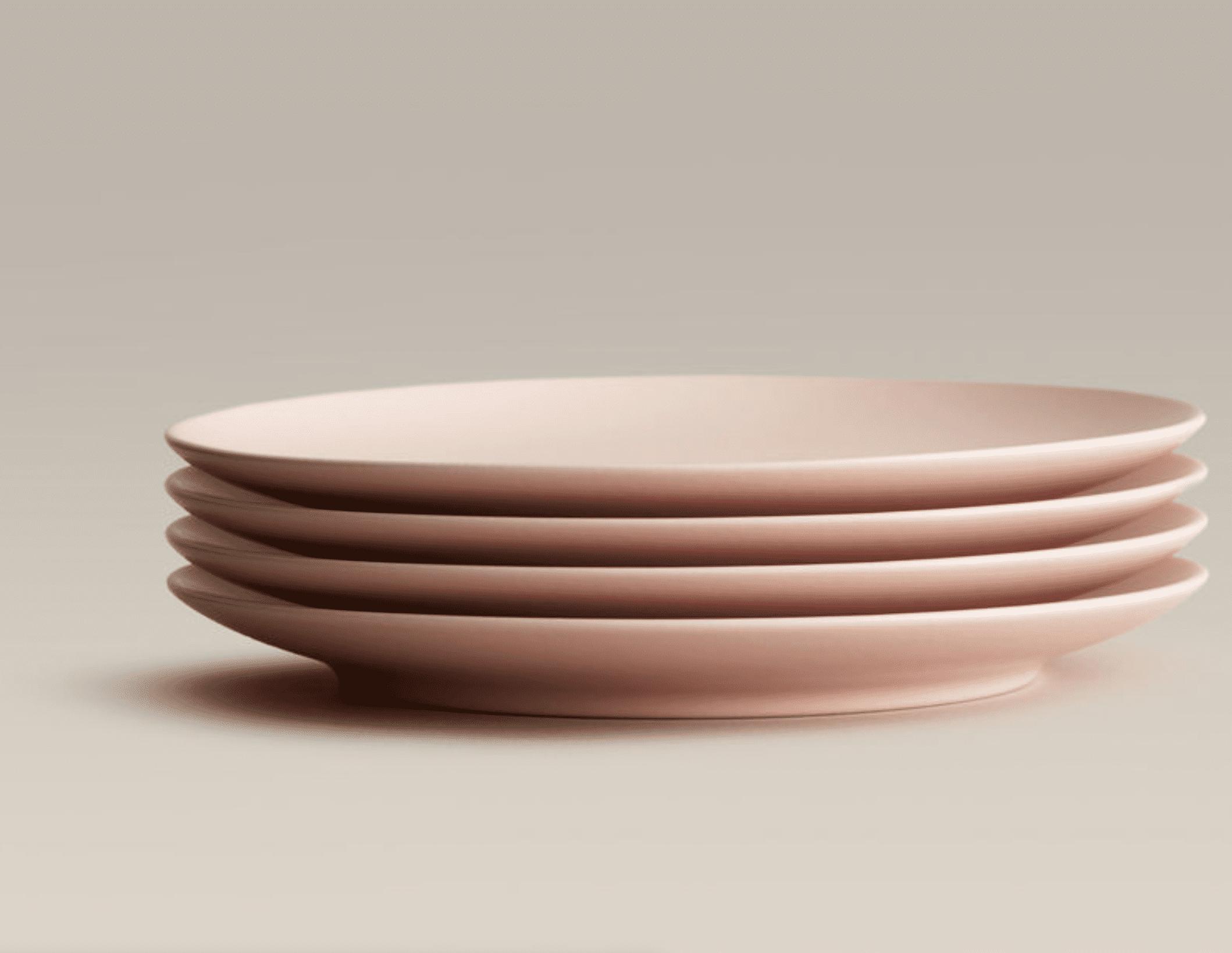 Big Plates, Set of 4