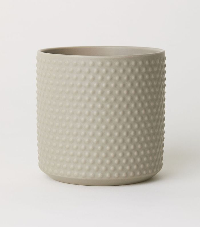 Small Stoneware Plant Pot