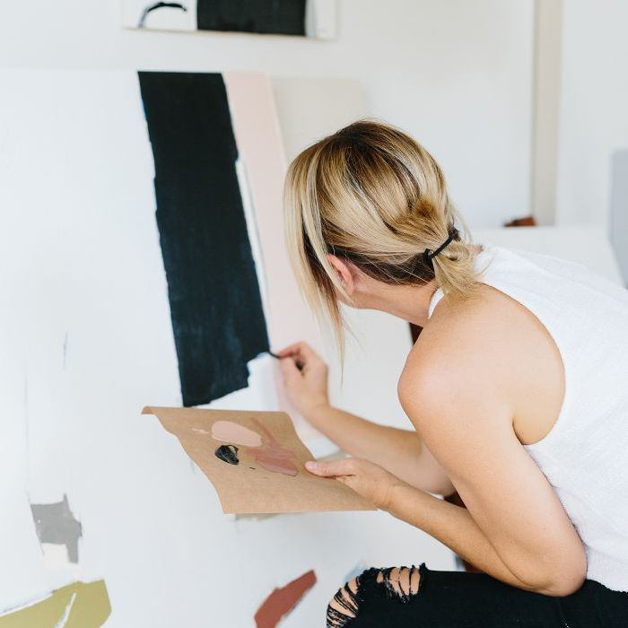 artist studio—Holly Addi