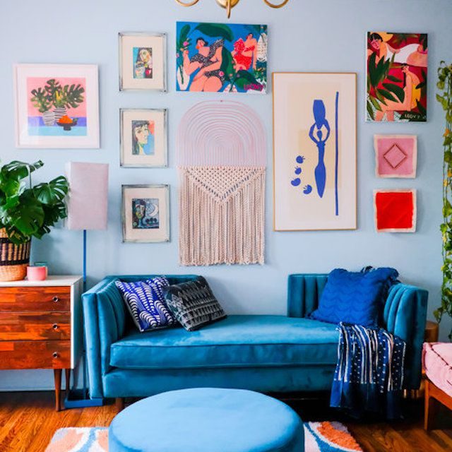 colorful living rom