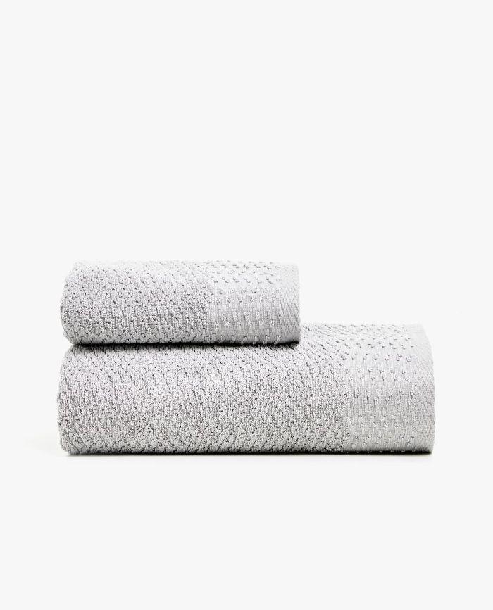 Zara Home Geometric Jacquard Towel