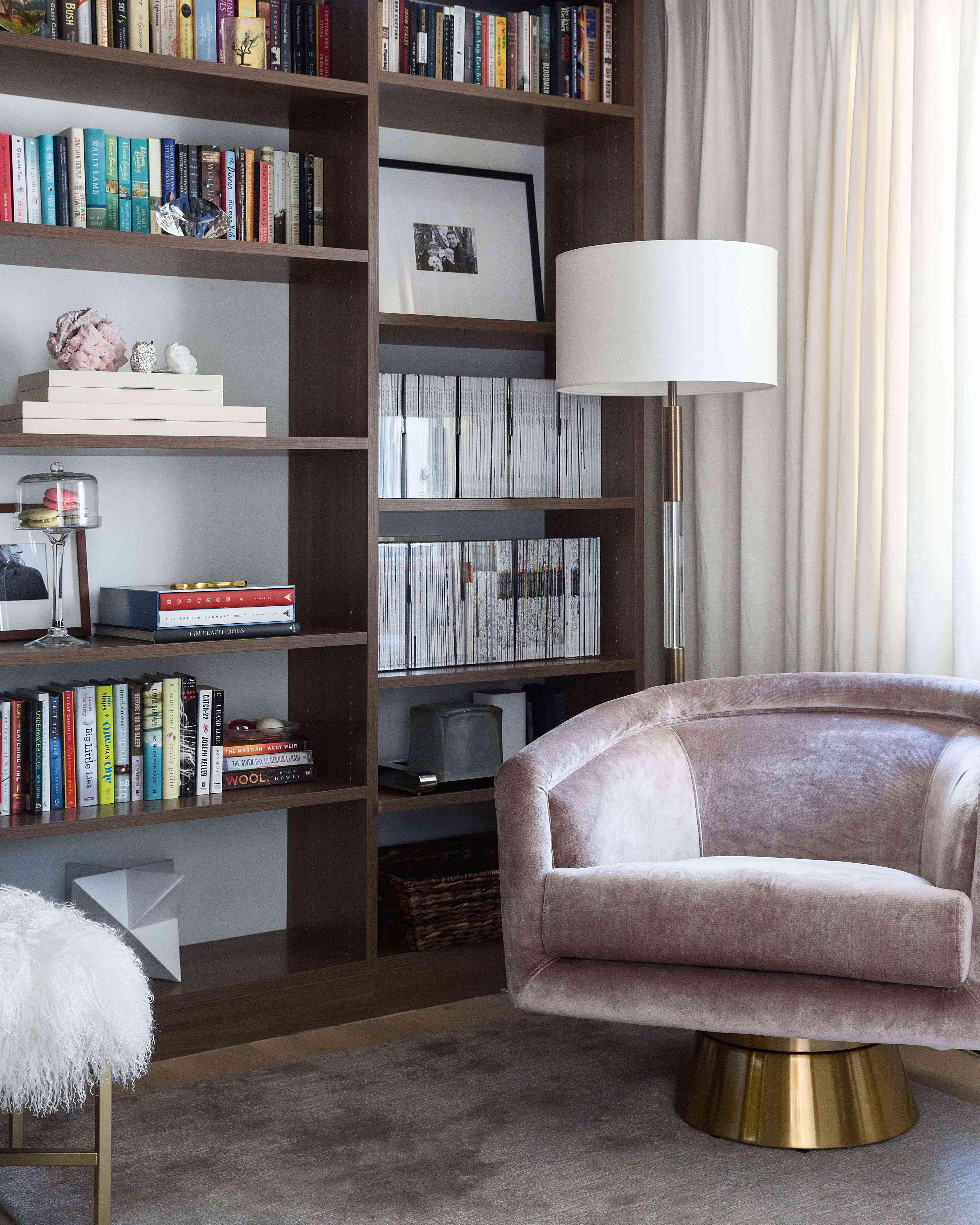 living room builtins