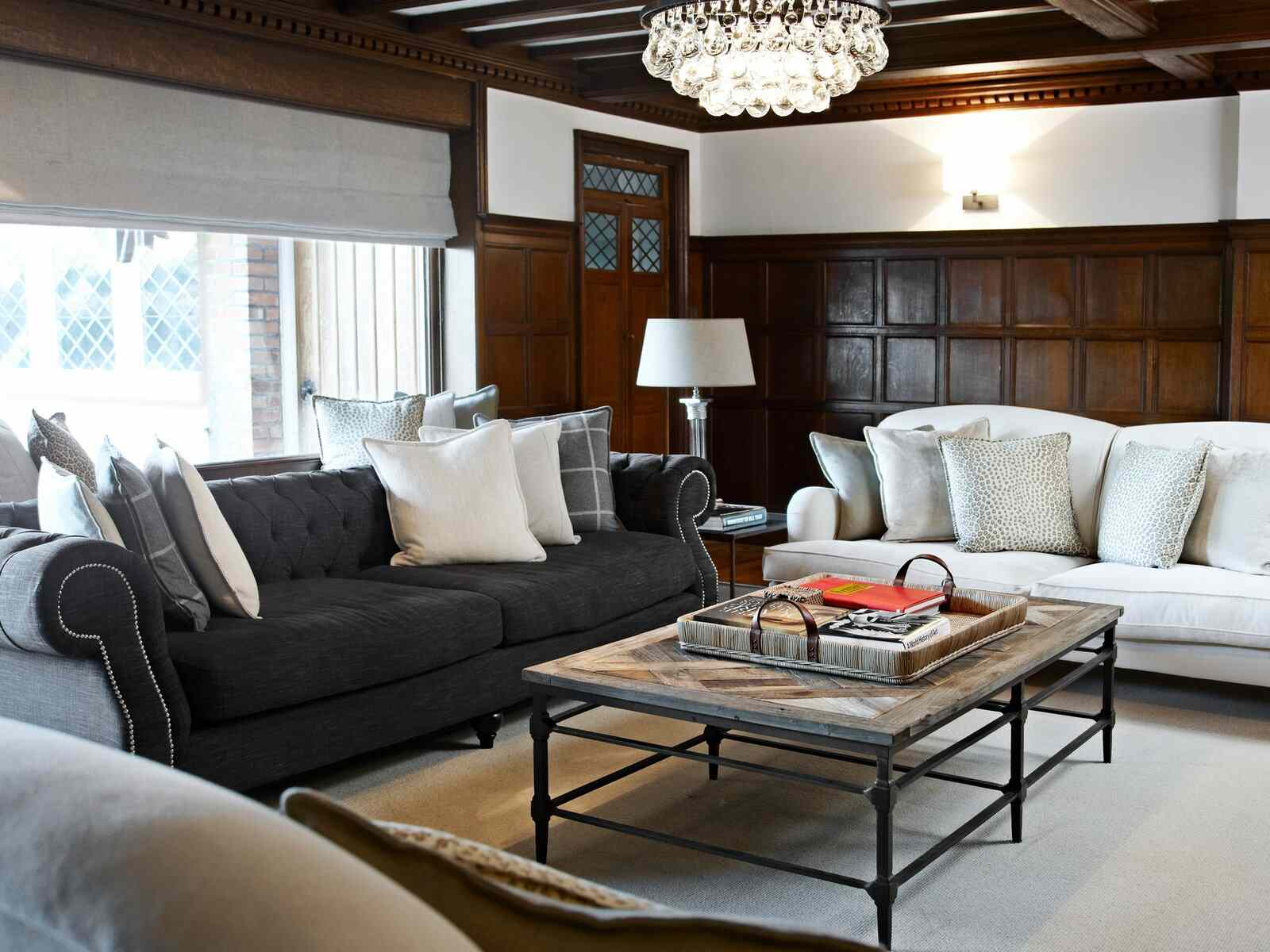 tips for fall decorating: gathering spaces