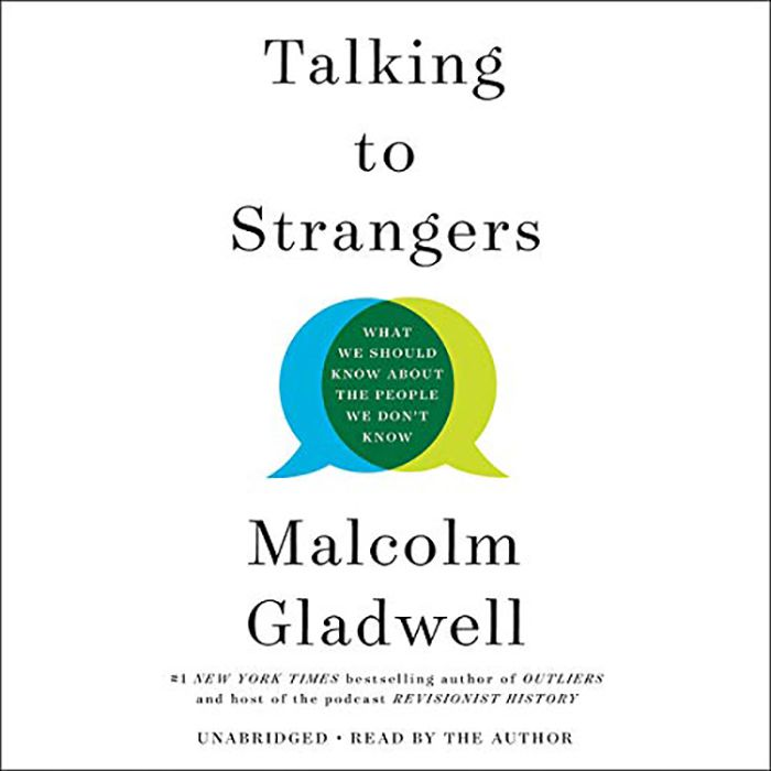 talking to strangers audio book