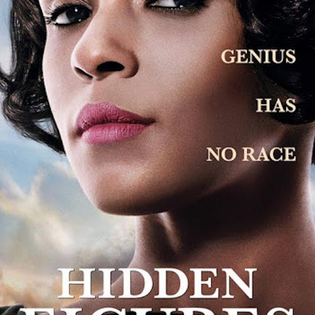 Hidden Figures (2016) movie poster.