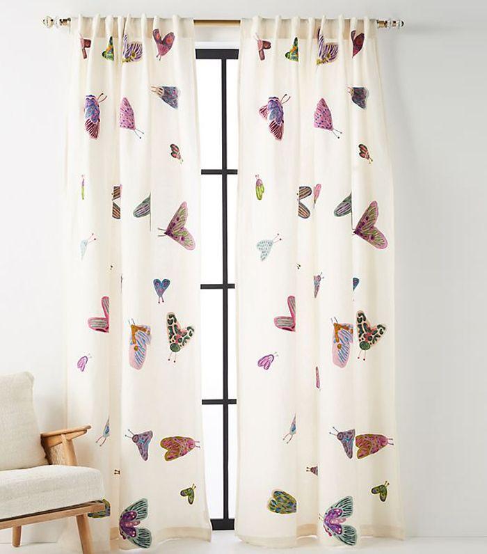Embroidered Luella Curtain