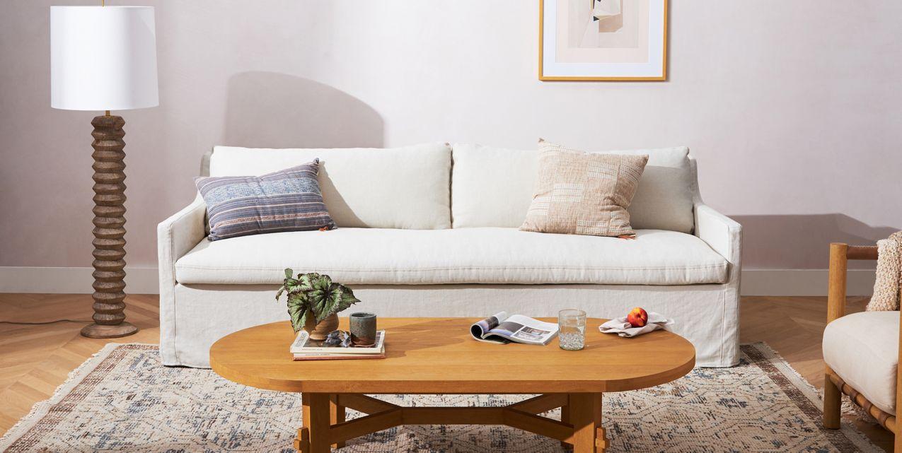 Keane Slipcover Sofa