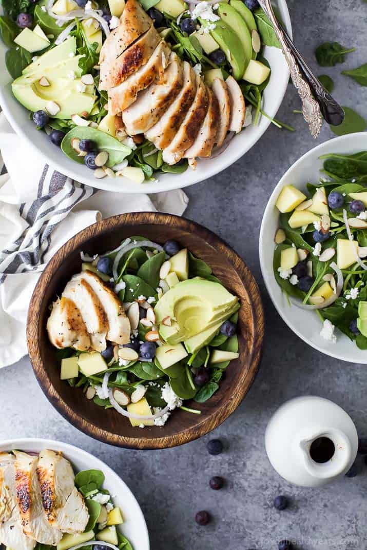 These 14 Healthy Chicken Salad Recipes Will Spice up Your Lunch Break